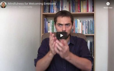 Mindfulness for Welcoming Emotions